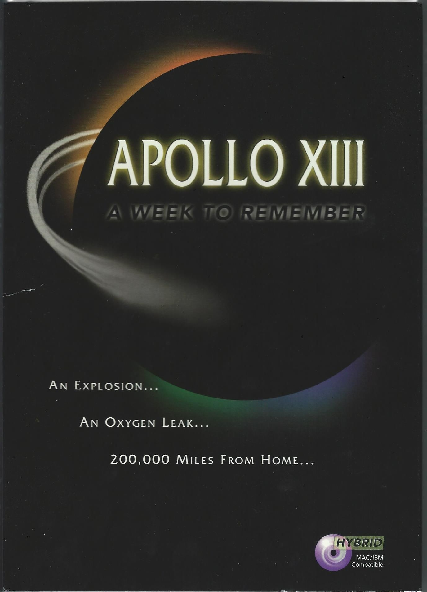 Apollo XIII: A week to remember