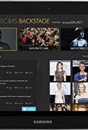 The Oscars Backstage
