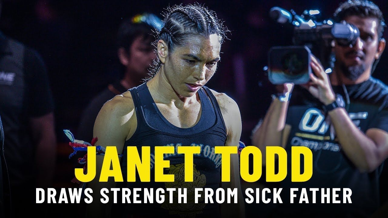 Janet Todd Draws Strength From Sick Father