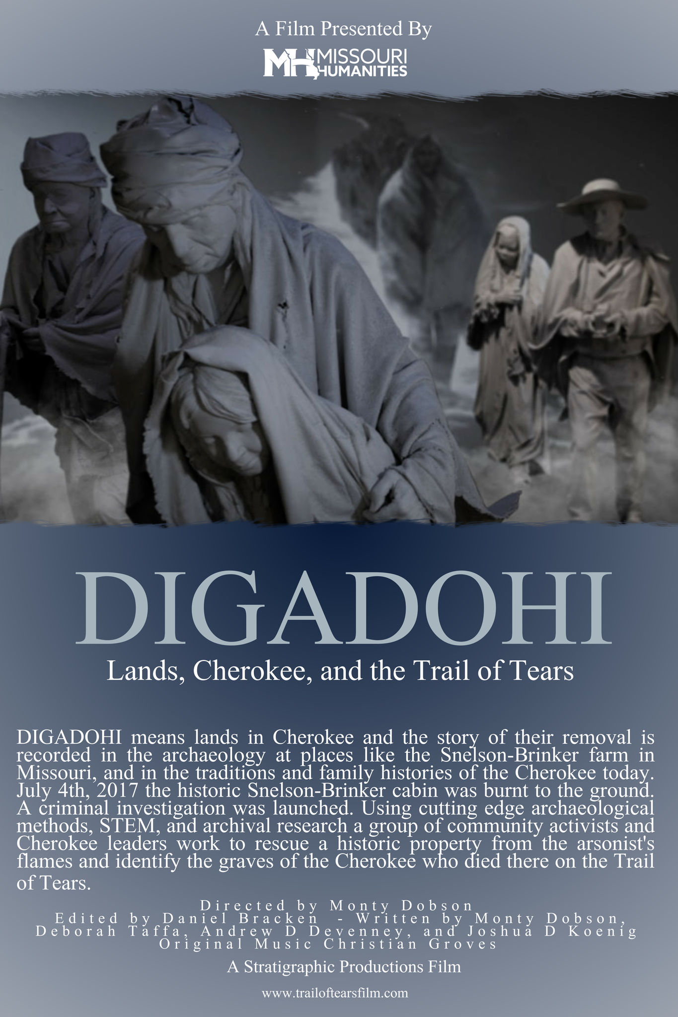 DIGADOHI: Lands, Cherokee and the Trail of Tears