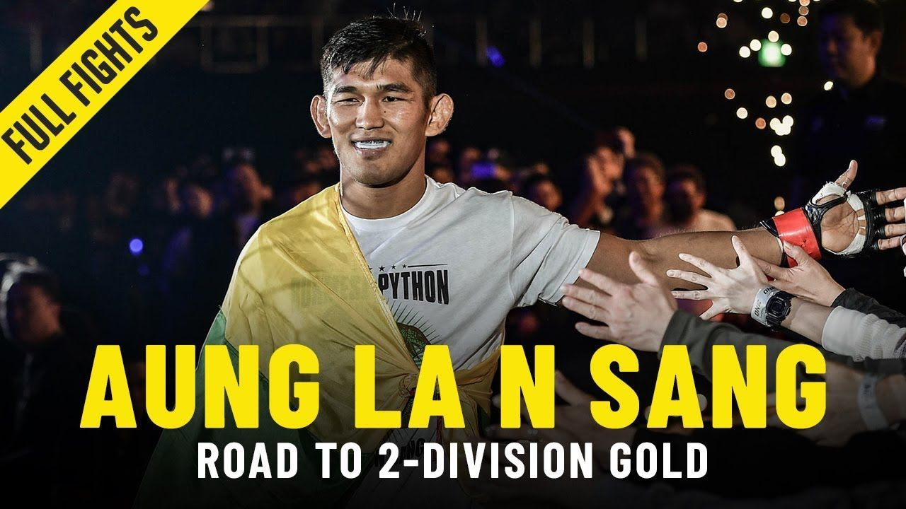 Aung La N Sang's Road To 2-Division Gold | ONE Full Fights & Features