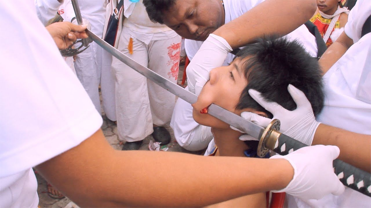 Peaceful Violence - The Vegetarian Festival in Phuket, Thailand