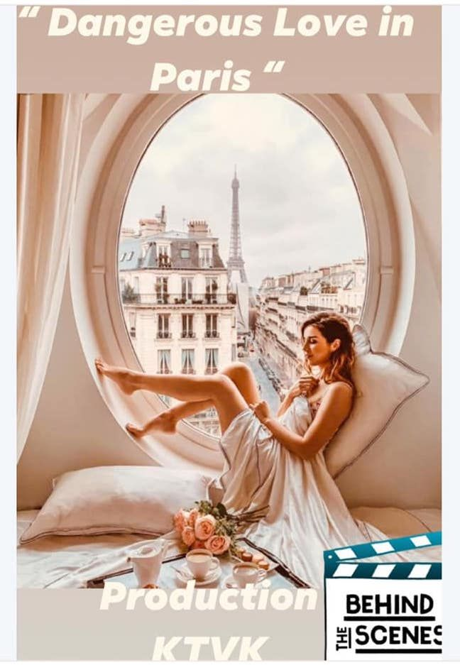 DANGEROUS LOVE IN PARIS