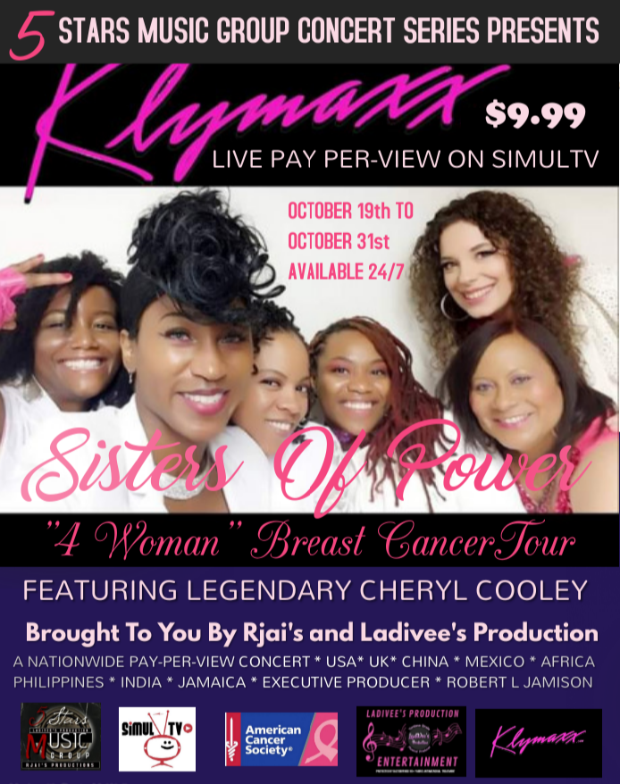 Sisters of Power 4 Woman Cancer Musical featuring Klymaxx