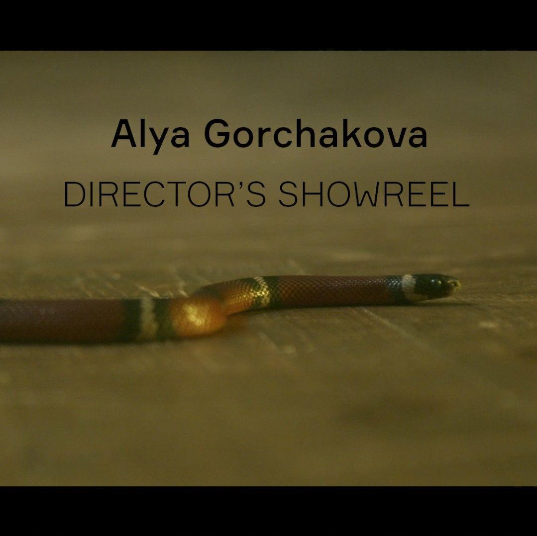 Director's showreel