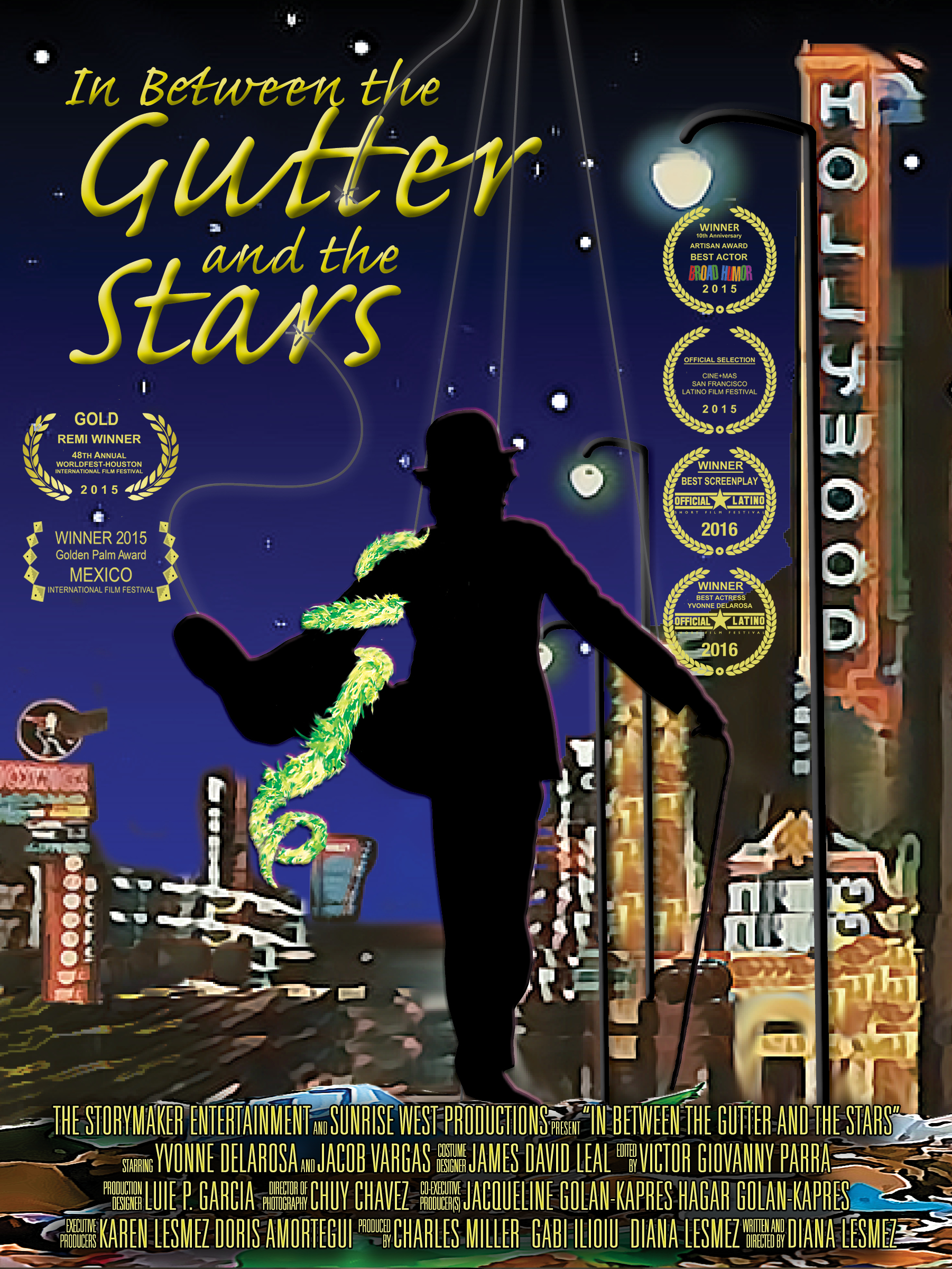 In Between the Gutter and the Stars