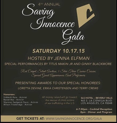 4th Annual Saving Innocence Gala: Live from the SLS Hotel