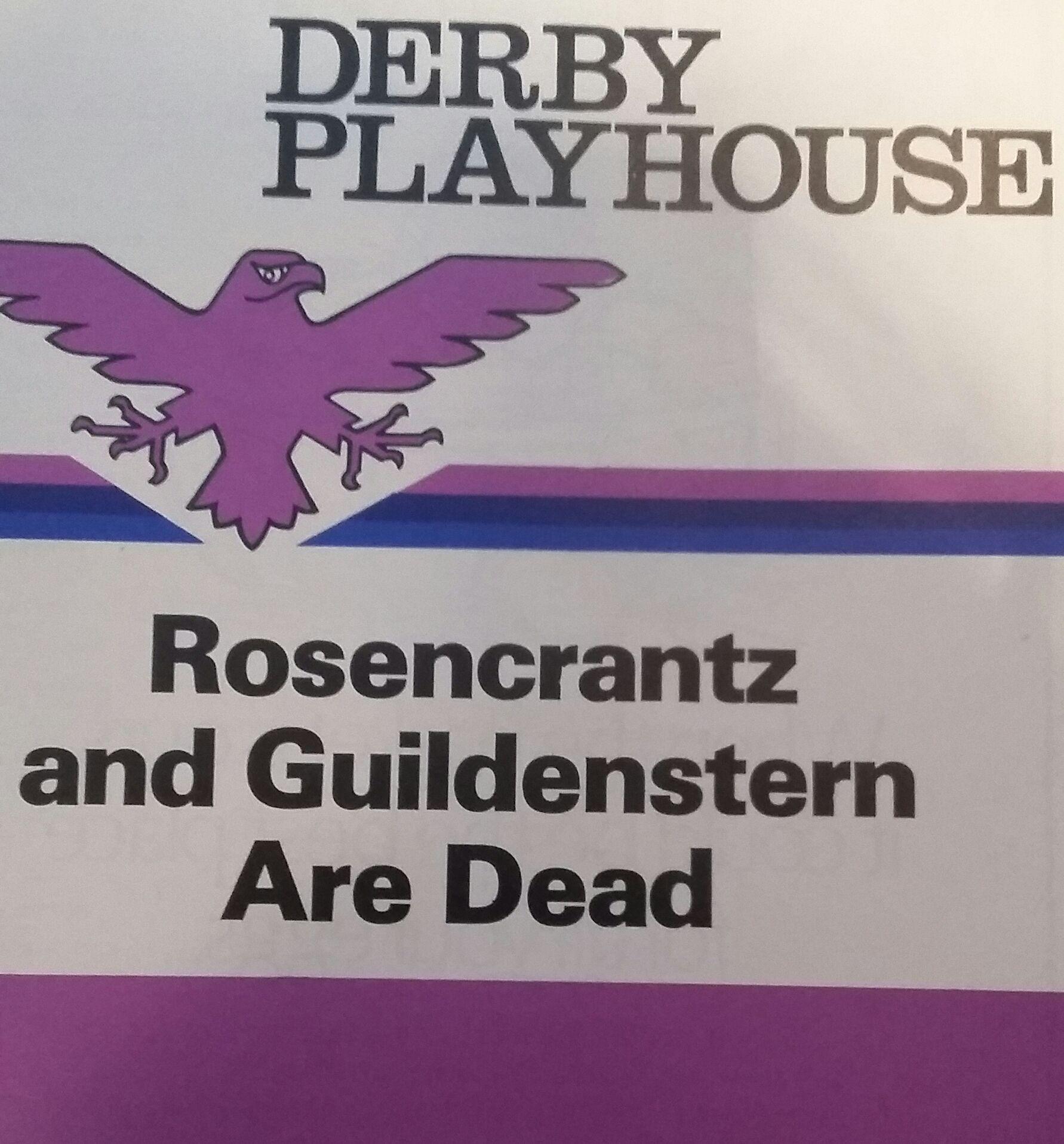 Rosencrantz and Guilderstern are Dead. Tom Stoppard