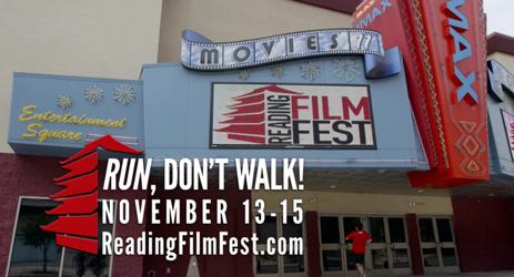 Reading Film FEST ad shoot