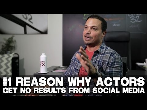 "#1 Reason Why Actors Get No Results From Social Media by Richard ""RB"" Botto (Stage 32 CEO)"